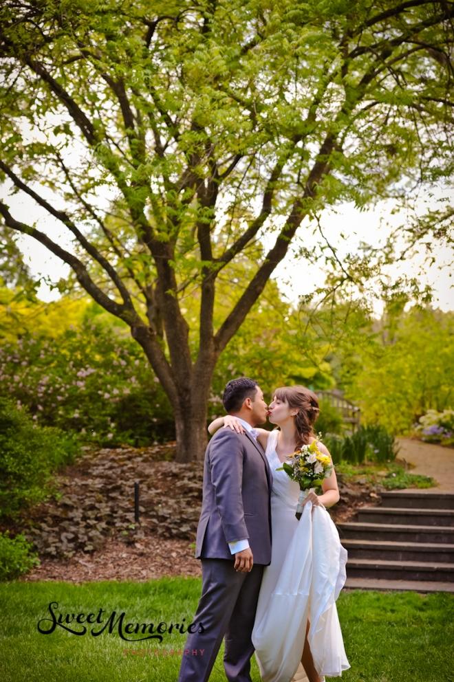 A Lewis Ginter Botanical Gardens Wedding: Virginia + Juan