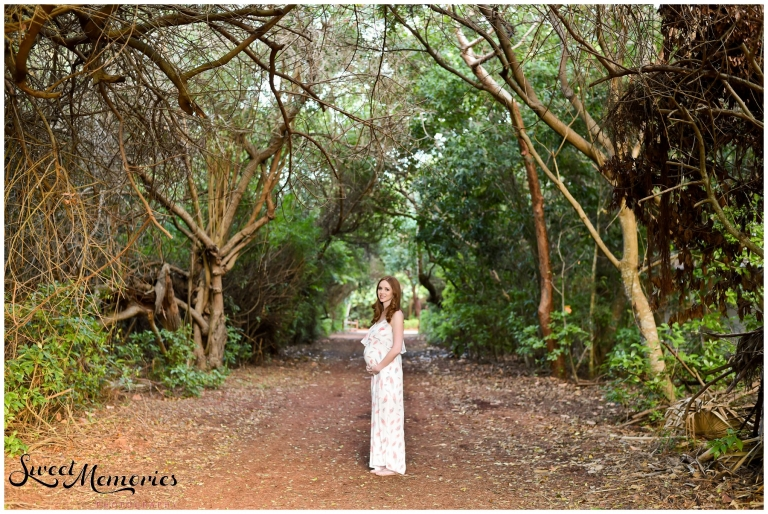 Maternity Session at Spanish River Park - Boca Raton Family Photographer