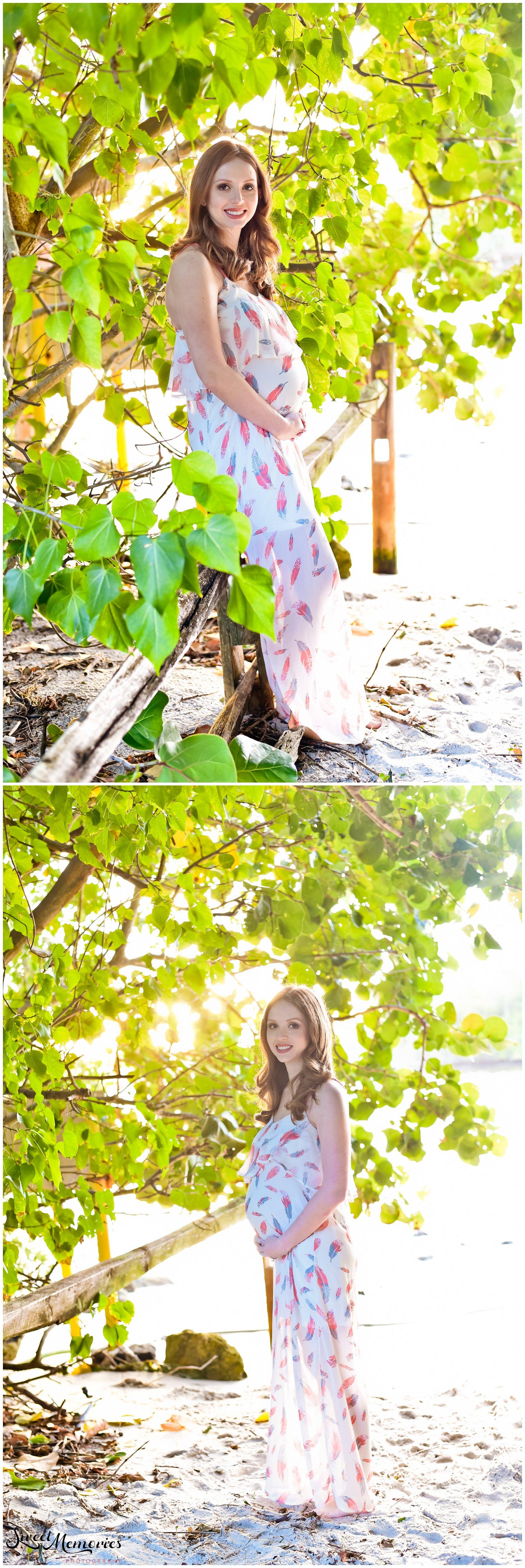 Maternity Session at Spanish River Park - Boca Raton Family Photographer