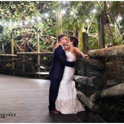Lynsie and Angel's Zoo Wedding - South Florida Wedding Photographer