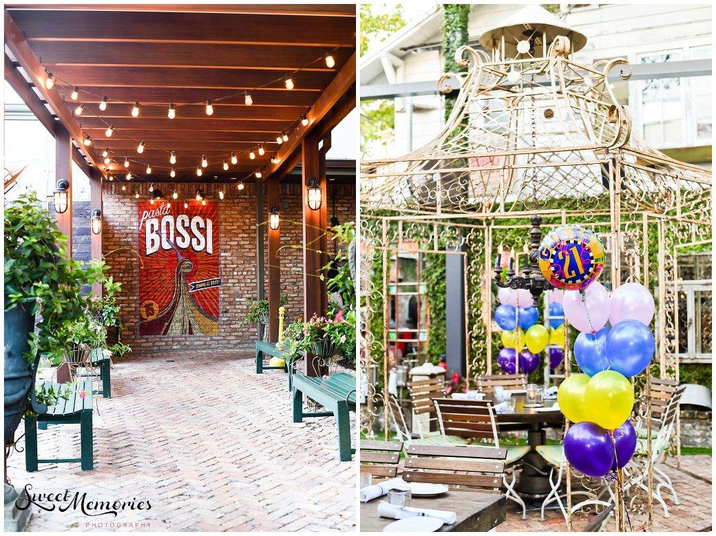 Celebrating Milestones at Louie Bossi - South Florida Photographer