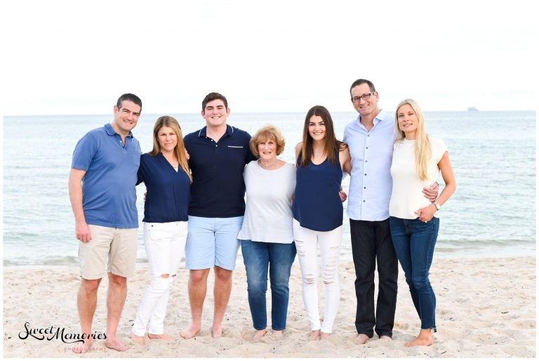 Wintry Fort Lauderdale Family Session - Fort Lauderdale Photographer