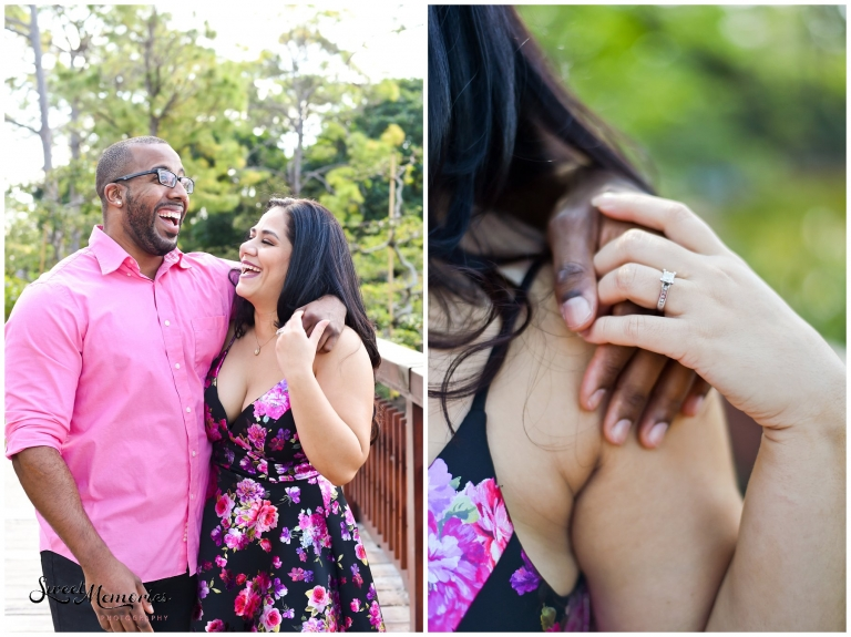 Morikami Engagement Session | Delray Beach Photographer