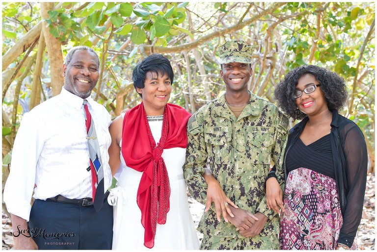 Military Family Session at South Inlet Park in Boca Raton - Florida Photographer