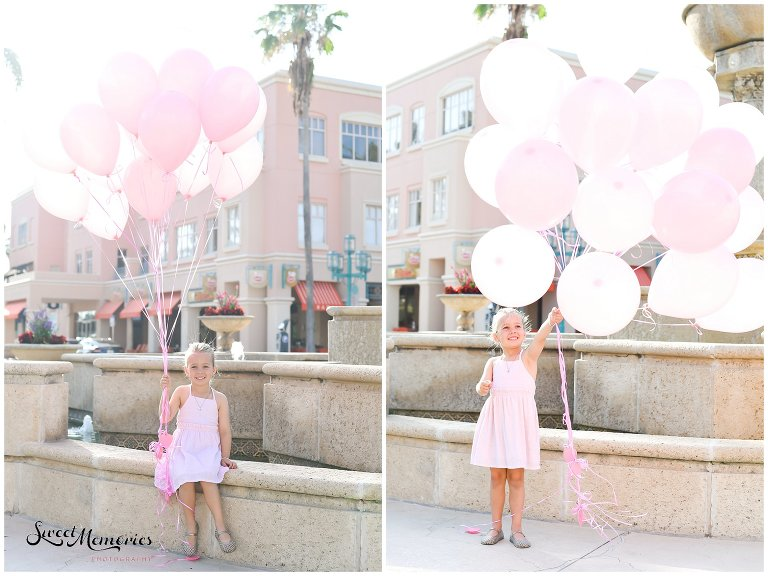 Birthday Portraits at Mizner Park | Florida Photographer