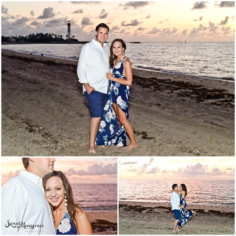 Engagement Session at Hillsboro Inlet | Fort Lauderdale Photographer