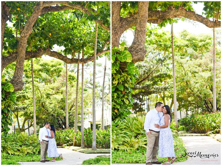 Society of the Four Arts Engagement Session in Palm Beach | Wedding Photographer