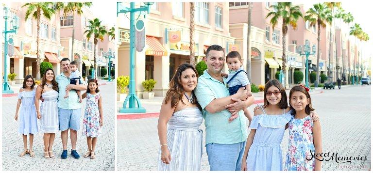 Family Portraits in Boca Raton | Mizner Park