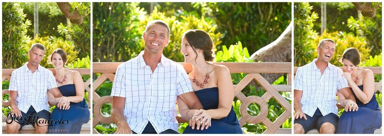 Kim and Allen reside in Virginia but love to travel, so it only made sense that not only is their wedding in a tropical paradise (Dominican Republic), but they also wanted to have a destination engagement session in West Palm Beach.