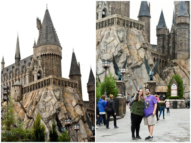 "Zachary and Sara's Proposal at the Wizarding World of Harry Potter was a dream come true for this photographer, and for the bride-to-be. Fellow Harry Potter fans, these two came down to Orlando for a little vacation. Little did Sara know that she would be saying ""yes"" to the man of her dreams in front of Hogwarts!"
