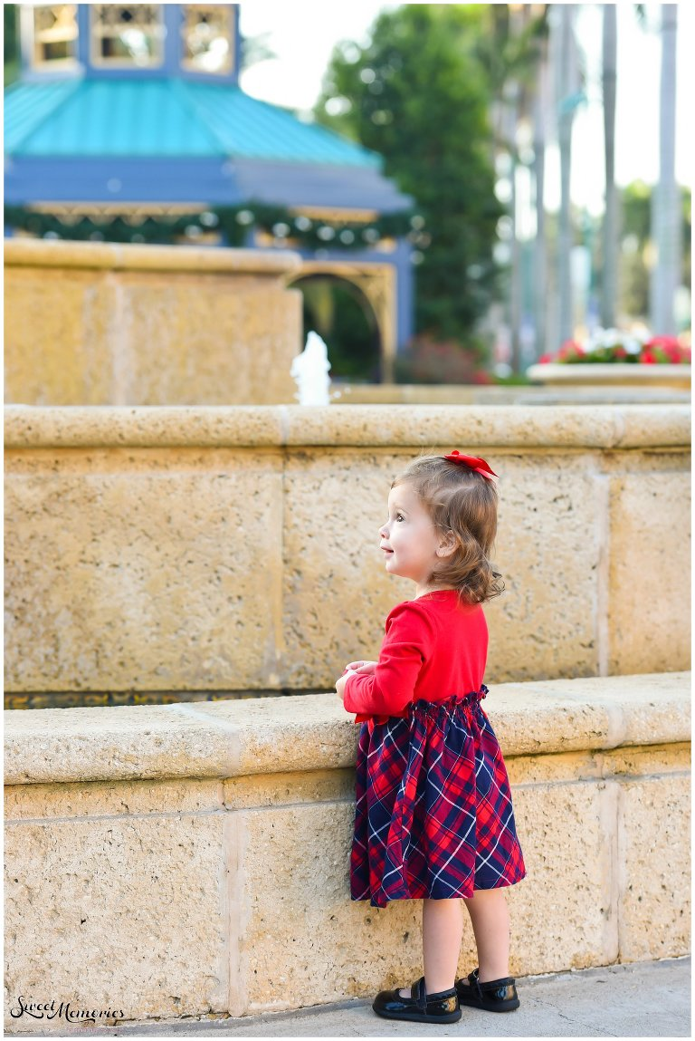 f8039b6e56 Photographing a holiday mini session with the Rosens was a ton of fun.  Mizner Park