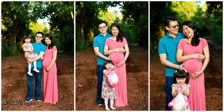 Victoria's baby bump session at Spanish River Park in Boca Raton was absolutely adorable, featuring momma herself, daddy, and baby's older sister. I love how the excitement and happiness just radiated throughout the whole session ... exactly how every maternity session should be!