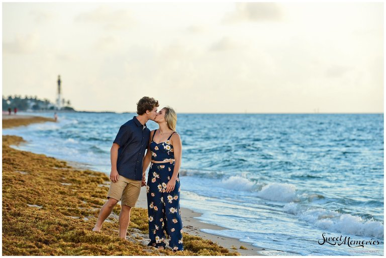 This Fort Lauderdale Couples Photoshoot on the beach with Ariel and Charlie was so much fun. This Kentucky-based couple was on a much-needed vacation with Ariel's family to celebrate their senior year of high school. Their first session together as a couple, we had a great time!