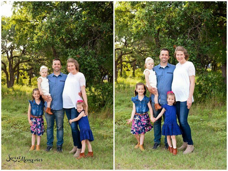 Austin family photos at Brushy Creek Lake park in Cedar Park.
